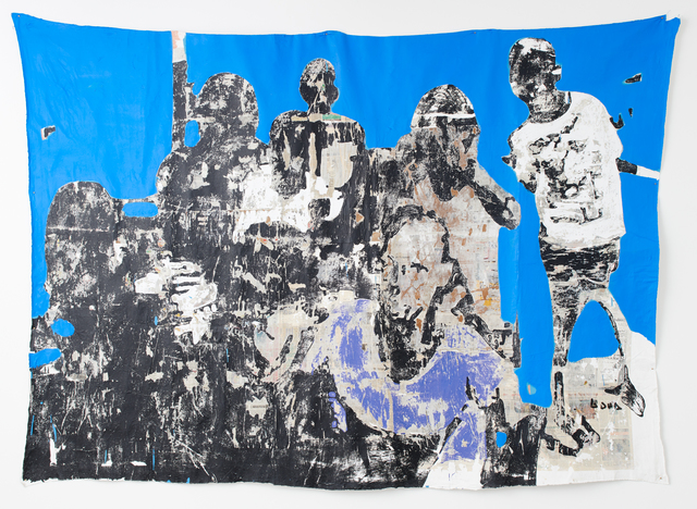 Armand Boua, 'La Mifa de Koweit-City', 2017, Jack Bell Gallery
