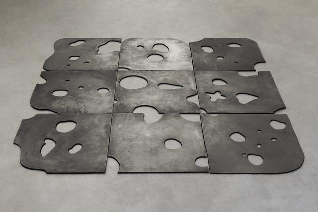 , 'Floor Piece - Black Swiss,' 2015, Mendes Wood DM