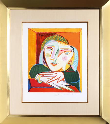 Pablo Picasso, 'Femme Accoudée à sa Fenêtre', 1973-Originally created in 1936, RoGallery