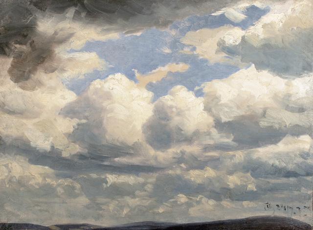 , 'Study of Sky and Clouds,' , Antonacci Lapiccirella Fine Art