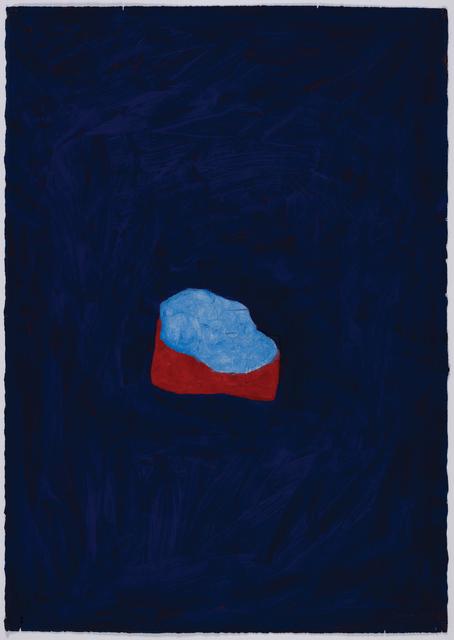 Robyn Denny, 'Moody Blues 1', 1990, Bernard Jacobson Gallery