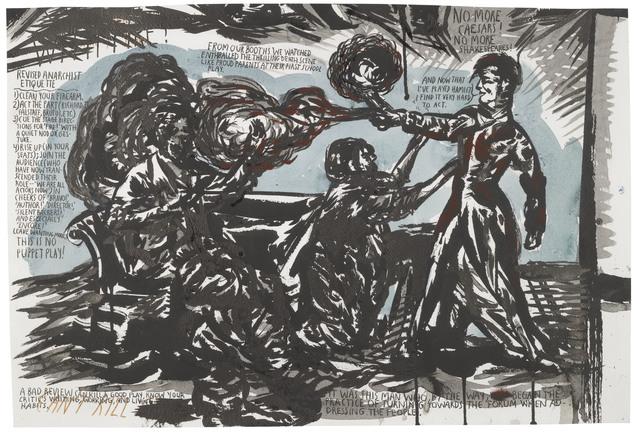 , 'Untitled (Revised Anarchist Etiquette),' 2001, G2 Kunsthalle