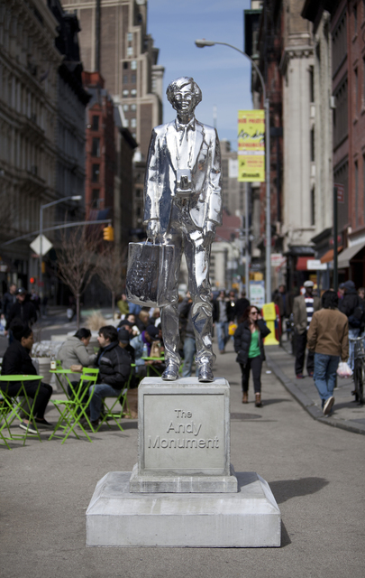 , 'The Andy Monument,' , Public Art Fund