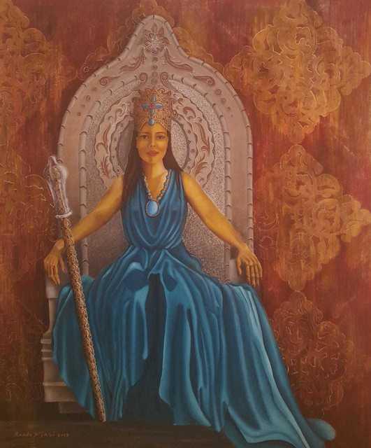 , 'الملكة بلقيس - اليمن / Balqees The Queen of Sheba - Yemen,' 2018, Afkar Gallery