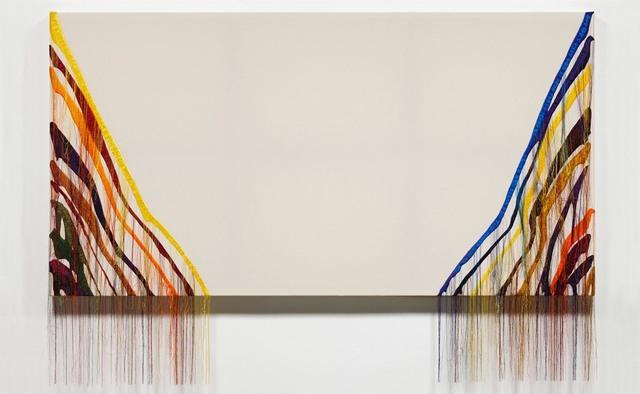 , 'Abstract Weave / Morris Louis Untitled 1960 NB001-02,' 2014, carlier | gebauer