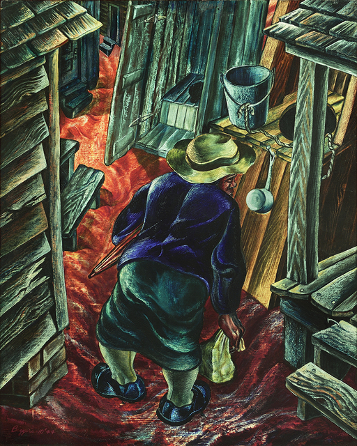 , 'Coming Home from Work,' 1944, Forum Gallery