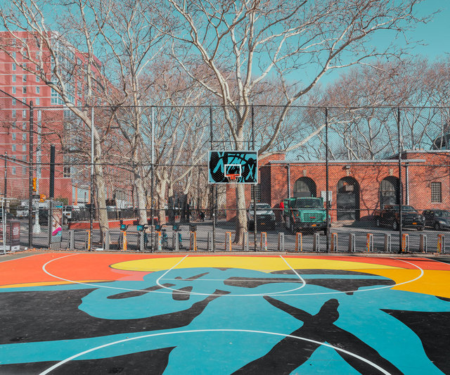 , 'New York Basketball Court,' 2019, ArtStar