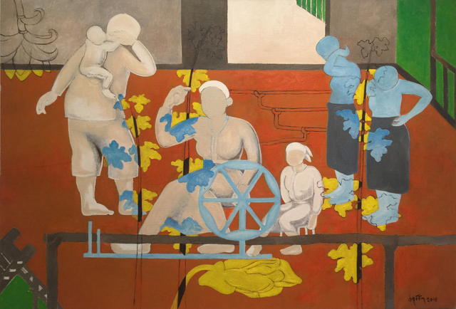 , 'Floating Courtyard,' 2015, Art Vietnam Gallery
