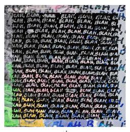 Blah, Blah, Blah + Background Noise, 2013