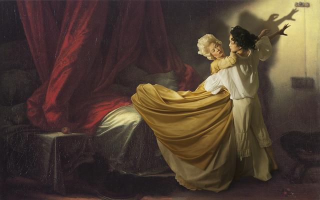 , 'Ode to Fragonard's The Bolt,' 2013, Jonathan Ferrara Gallery