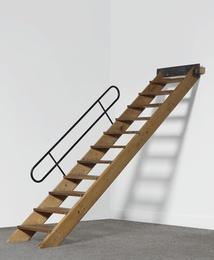Staircase for L'Unité d'Habitation, Firminy, France