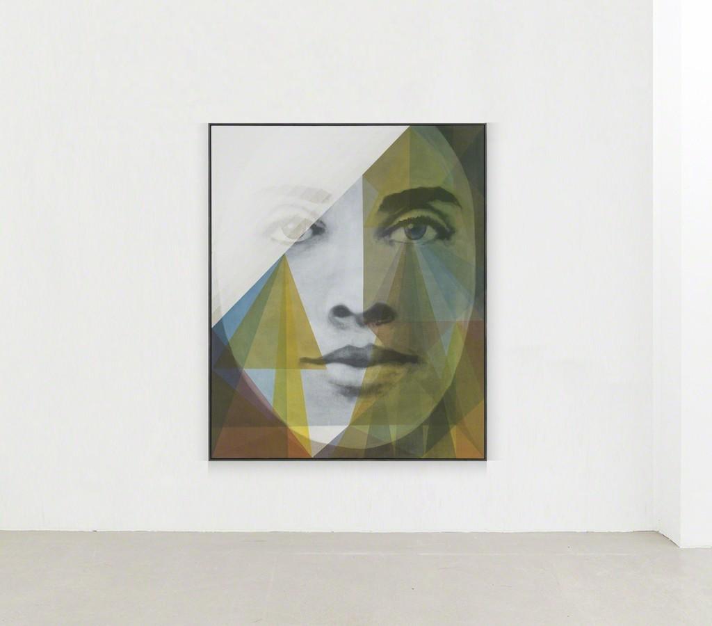 """installation view Matthias Bitzer, """"Untitled, 2017"""""""
