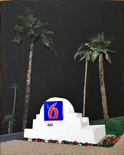 , 'Motel 6 Palm Springs,' 2017, Space 776