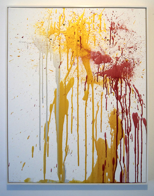 Michael Petry, 'Libations to Eros VI (Gold, Silver and Red)', 2014, The Fine Art Society