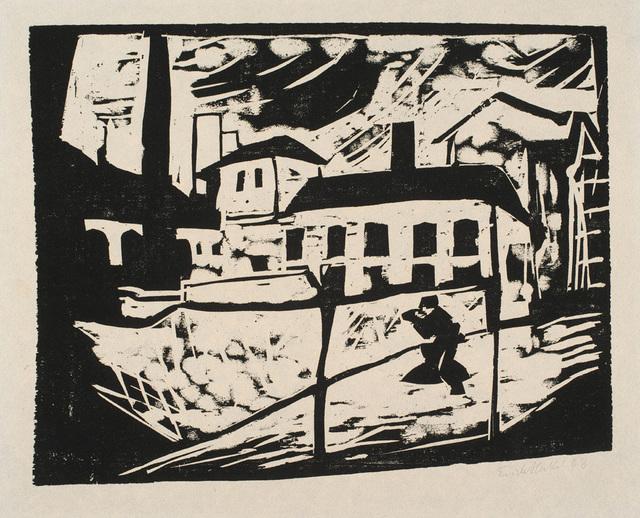 , 'Fabrik,' 1910, Charles Nodrum Gallery