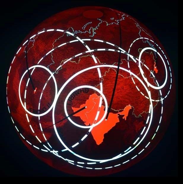 Ingo Gunther, 'Nuclear Range', 2012, Galerie Brigitte Schenk