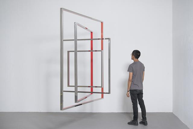 , 'Homage to the Square,' 2016, Galleri Nicolai Wallner
