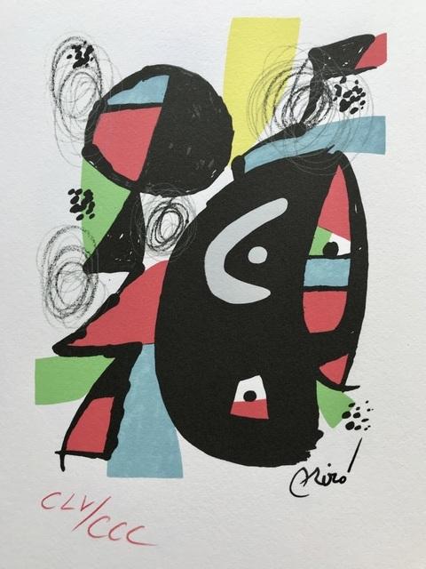 Joan Miró, 'La Mélodie Acide XI', 1983, ByNewArt