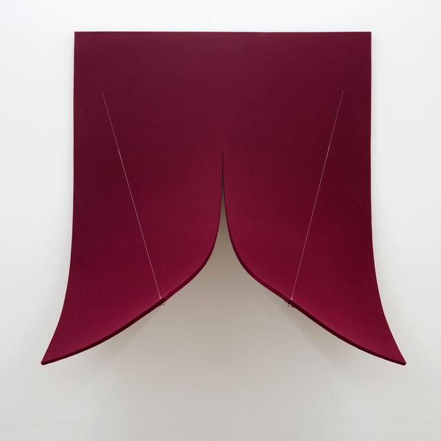 , 'Work On Felt (Variation 8) Bordeaux, 2016,' 2016, Kunsthaus Baselland