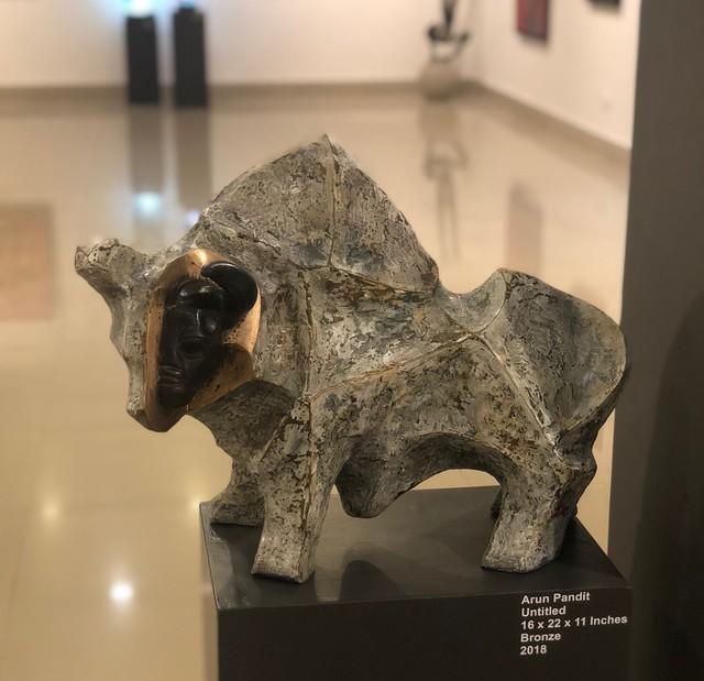 , 'The Bull,' 2018, Art Pilgrim