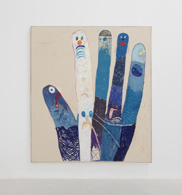 , 'Finger Family (4th Hand),' 2018, Louis 21