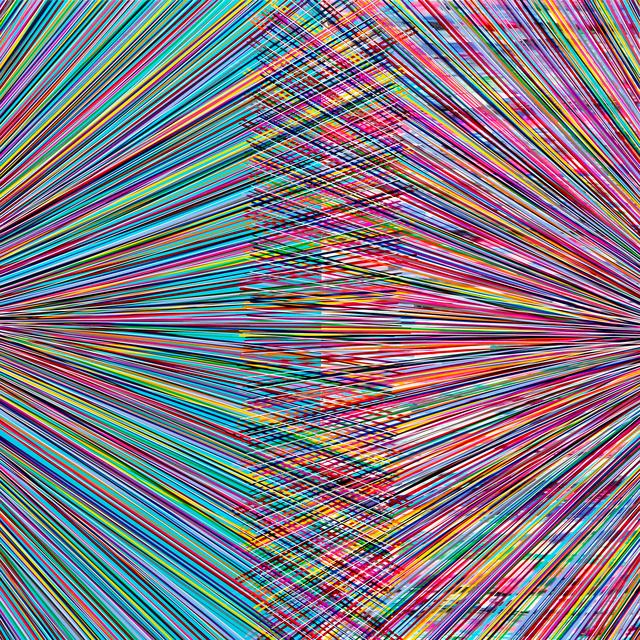 , 'Dual Event (Square Teal Multi),' 2016, Newzones
