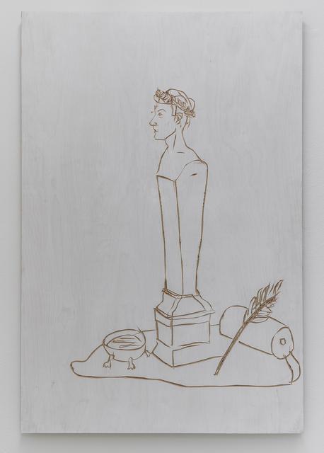 , 'Roman pillar (relief),' 2014, Mai 36 Galerie
