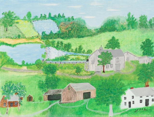 , 'The Empty Barn,' 1957, Larsen Gallery