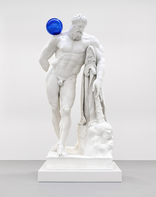 , 'Gazing Ball (Farnese Hercules),' 2013, Gagosian