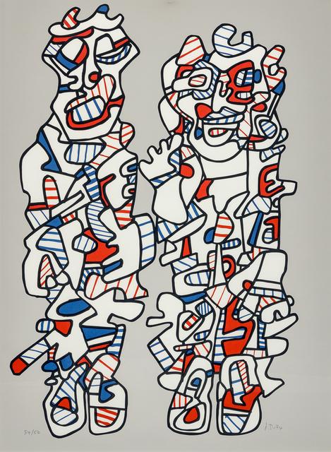 Jean Dubuffet, 'Delegation', 1974, Hindman