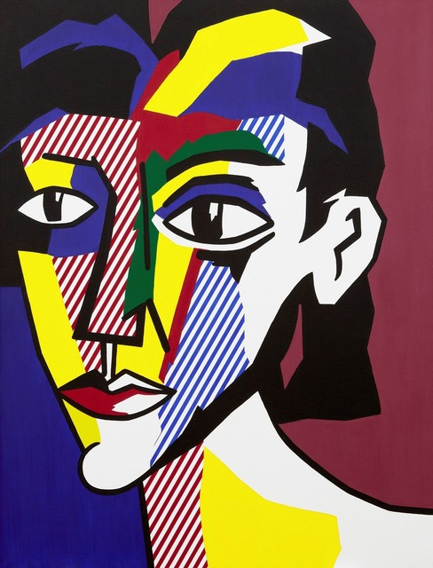 Roy Lichtenstein, 'Portrait of a Woman', 1979, Painting, Oil and Magna on canvas, Gagosian