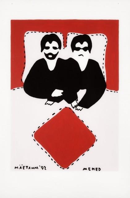 , 'Men,' 1992, Temnikova & Kasela
