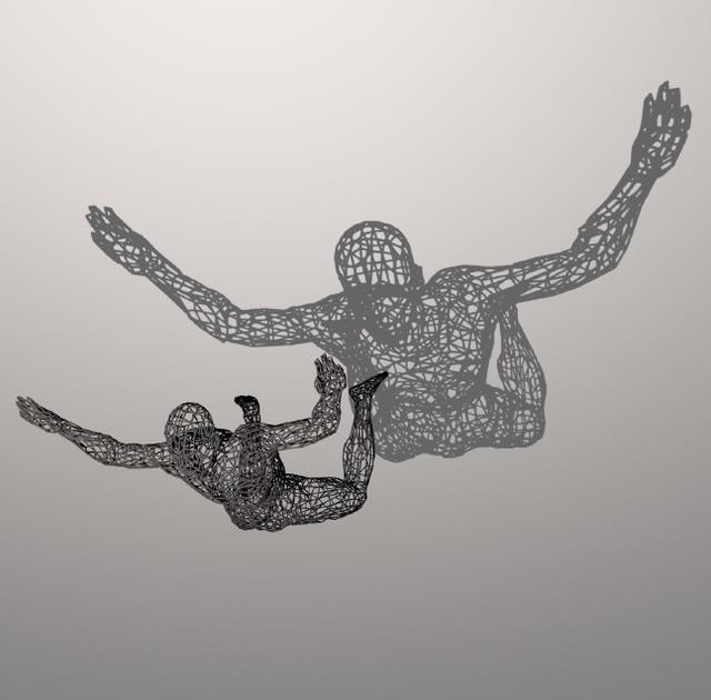 , 'Big Skydiver 2017,' 2017, Joerg Heitsch Gallery