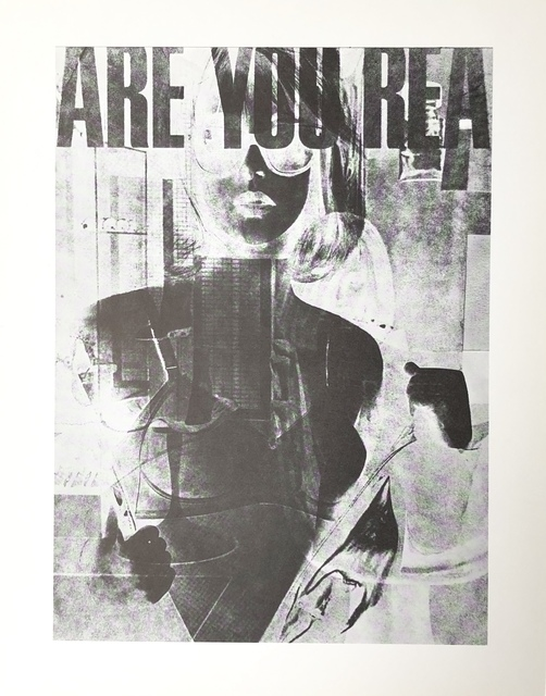 Robert Heinecken, ''ARE YOU REA'', 1968, Stubbs Fine Art