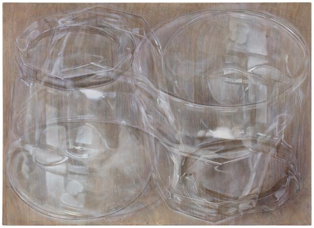 Susanne Gottberg, 'Kiasma', 2021, Painting, Oli and colored pencil on wood, Galerie Forsblom
