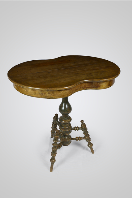 , 'Presentation Table,' ca. 1820, Sandra e Márcio
