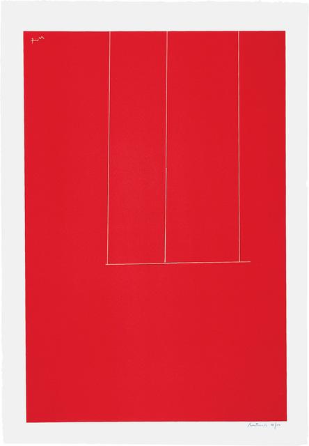 , 'London Series I: Untitled,' 1971, Bernard Jacobson Gallery
