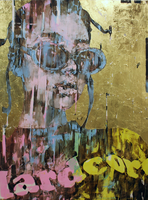 , 'Supergold Hardcore,' 2017, Ransom Art