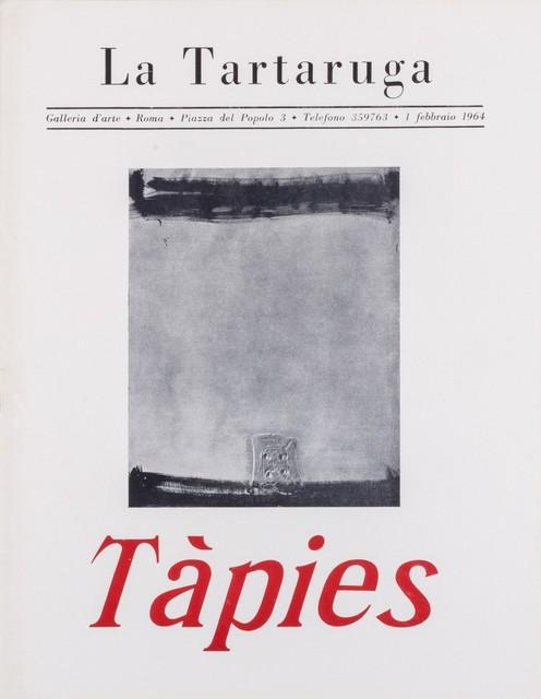 Antoni Tàpies, 'Tàpies', 1964, Books and Portfolios, Catalogue, Finarte