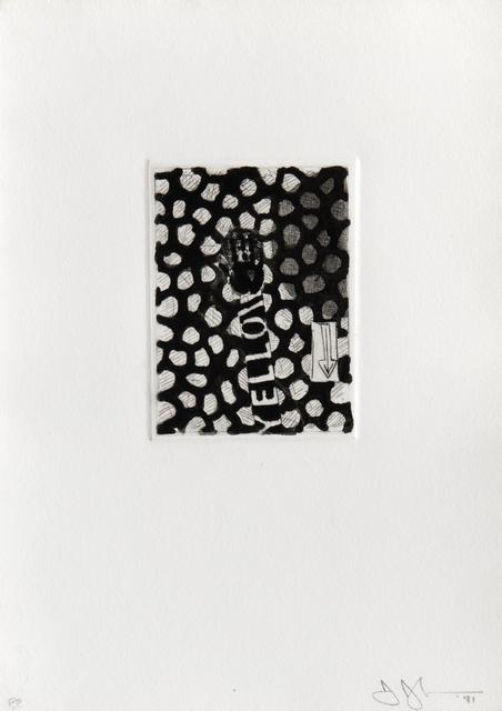 , 'Untitled,' 1981, BASTIAN
