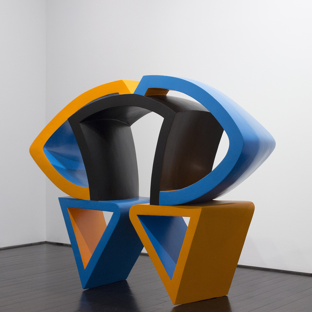 , 'Orange, Blue and Black,' 1968-1970, Loretta Howard Gallery