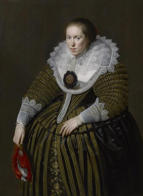 , 'Emerentia de la Kethulle, née van Ravenswaay (1593 – 1634),' 1625, The Weiss Gallery
