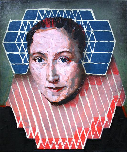 , 'Portrait of Gillina van Vlierden (after Geldorp),' 2019, Secret Art Ltd.