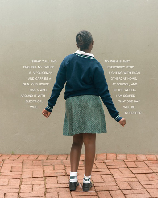 Judy Gelles, 'South Africa: Public School (Girl)', 2013, Pentimenti Gallery