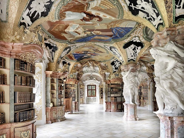, 'Metten Library, Germany | World Libraries,' 2016, CHROMA GALLERY