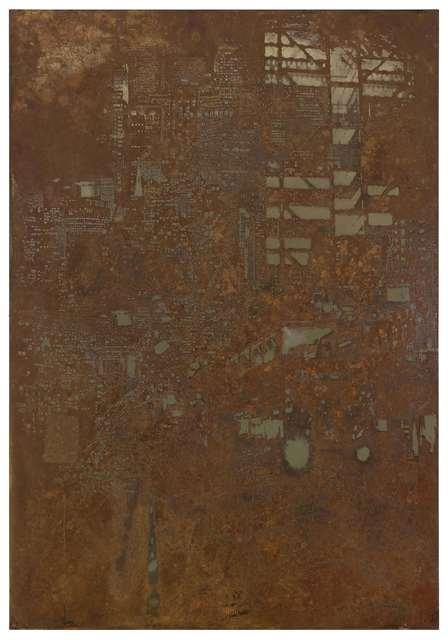 , 'Reflection #1,' 2012, Lazinc