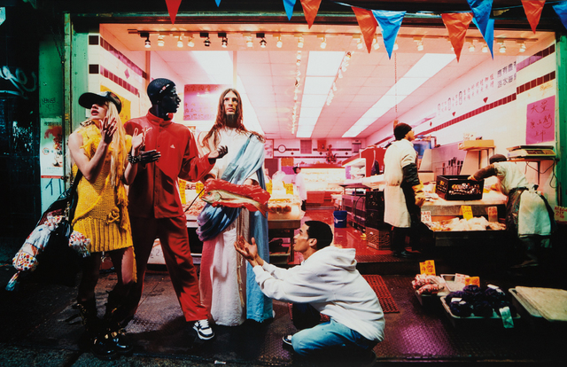 David LaChapelle, 'Loaves & Fishes (from Jesus is my Homeboy)', 2008, Phillips