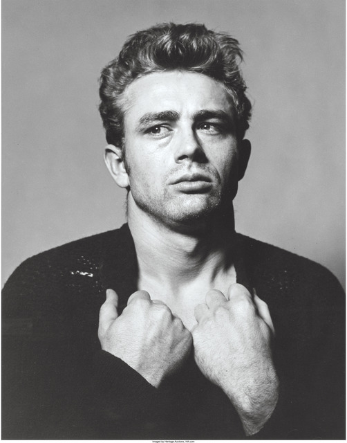 Roy Schatt, 'James Dean (from the Torn Sweater series)', 1954, Heritage Auctions