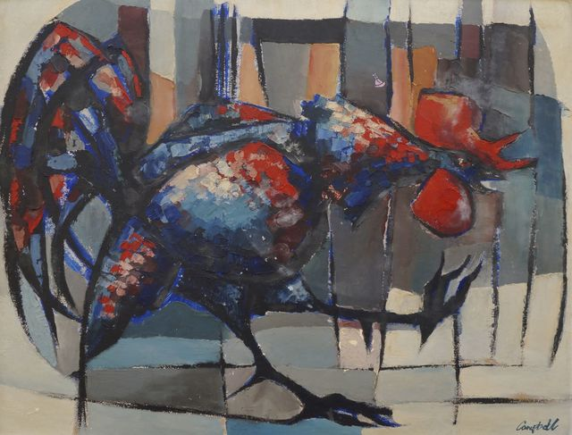 George Campbell, 'Rooster', Roseberys