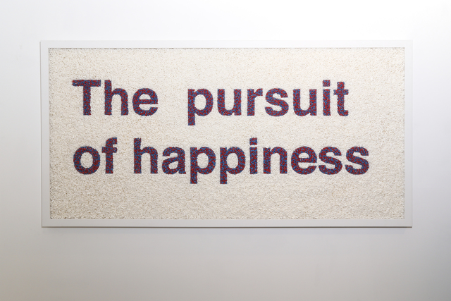 , 'The Pursuit of Happiness ,' 2015, Galleria Ca' d'Oro